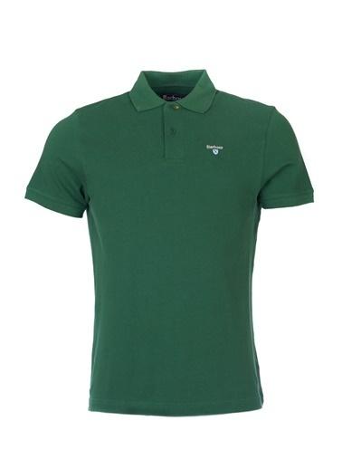 Barbour Sports Polo Yaka Ol72 Racıng Green Yeşil